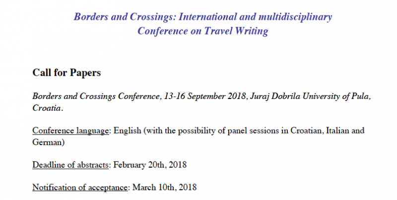 First call for papers is online (in...
