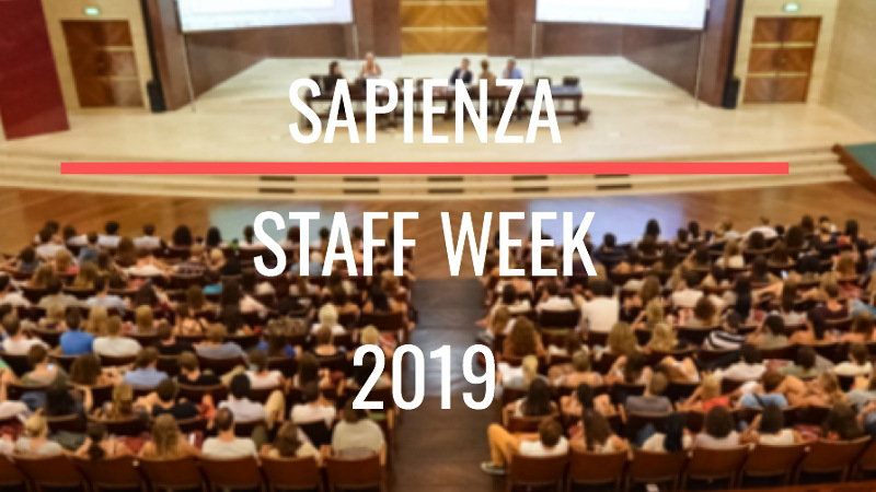 Staff Week - Sapienza University of...